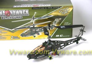 DYNA HAWKGX Apache RC Helicopter 2CH RTF DYNA HAWKGX Apache RC